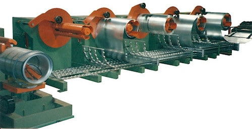 5 IN-LINE DECOILERS