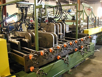 Electrical Wireway Machine