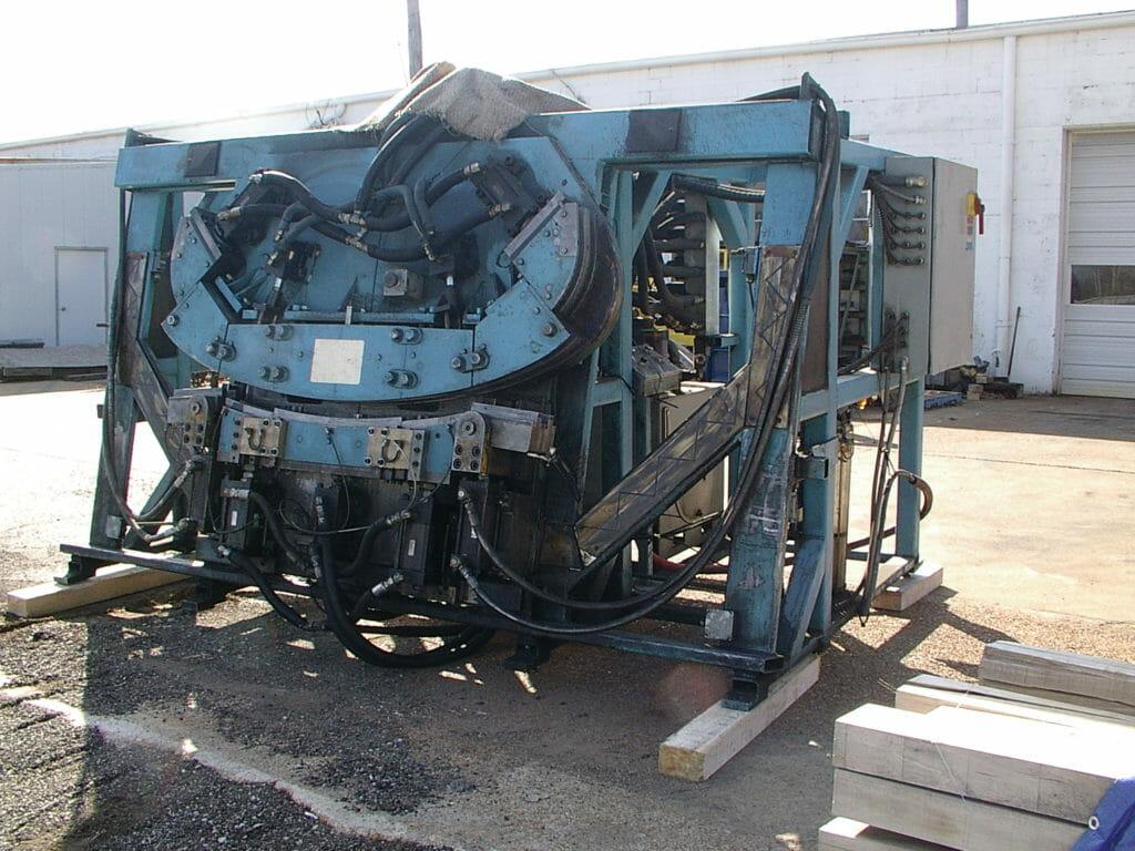 Bow Bender Forming Press Before Rebuild